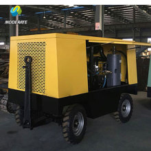 150HP 110KW Diesel Portable Rotary Air Compressor
