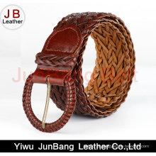 Cinturão de Braid de Couro Bonded de Moda