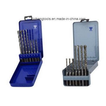 SDS Plus Bohrer-Set 7-teilig mit Metallgehäuse