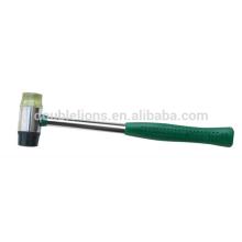 martillo de cara suave plástico con mango de tubo de acero