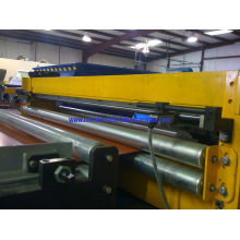 Rotary Shear Out And Hydraulic Cutting Metal Trapezoid Wall Panel Roll Forming Machine