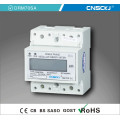 Digital DIN Rail DC Electrical Meter with LCD Display