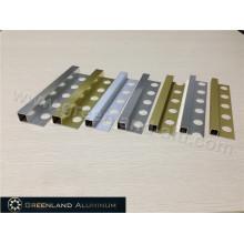Alumínio Square Schluter Strip em três tamanhos