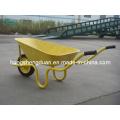 Yellow Hot-Selling Wheelbarrow Have 60L Capacity