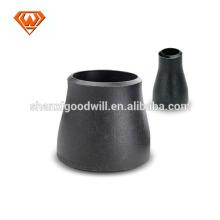 reductor de accesorios de tubería de acero al carbono