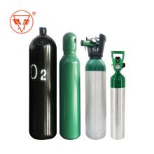 Leere tragbare Oxygen10L-Gasflasche aus Stahl für medizinische Zwecke