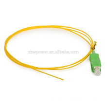 Cheap price SM Simplex 9/125 SC/UPC APC Fiber Optic Ribbon Pigtail with LSZH Jacket