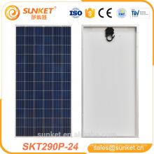 290 Вт высокая скорость передачи эффективность панели солнечных батарей широко используется в Водяной насос