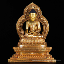 bronze foundry metal craft nepal handmade buddha statue