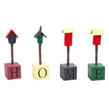 Lovely Wooden Schreibtisch Dekoration mit Worten - Home