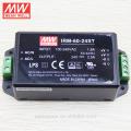 Cheap original MEANWELL 1W to 60W miniature with screw terminal 230v ac 24v dc converter 60w IRM-60-24ST