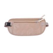 Men Women RFID Nylon Waist Bags Money Belts