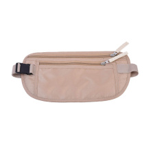 Men Women RFID Nylon Waist Bags Money Belts