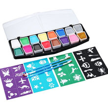 Professional water based Body Face Paints pallet