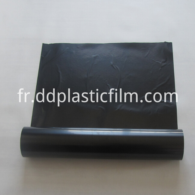 Black opaque mylar polyester film
