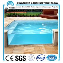 Customized Deluex Large Transparent Acrylic Swimming Pool