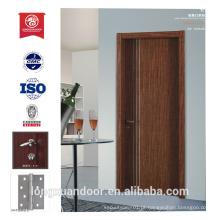 Porta de porta principal de madeira porta de hotel portas de fogo portas de prova de som inteior