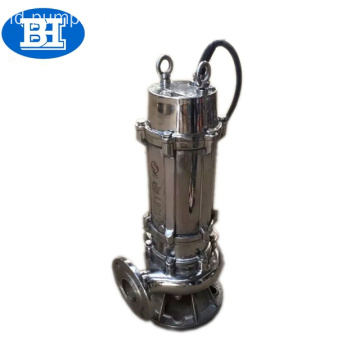 QW Stainless steel pompa air submersible untuk irigasi pertanian