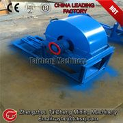 Diesel tree branch grinder equipment