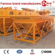 PLD1600 (tres y cuatro contenedores de agregados) Automático de pesaje central Maquinaria de procesamiento por lotes por lotes