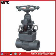 Threaded and Socket Welded Forged Steel Gate Valve