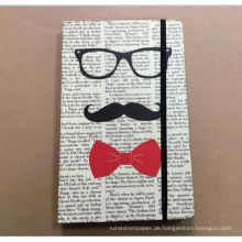 Kinds Buch Notebook Leder Fancy Bürobedarf