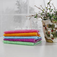 Organic Bamboo Kitchen Washcloth For Dishes