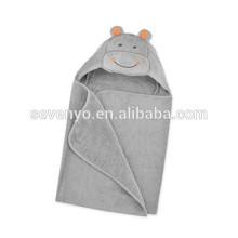 Toalla de baño con capucha para niños o niñas Uso de algodón 100% para baño, playa, amor recién nacido para bañar a la toalla de marionetas