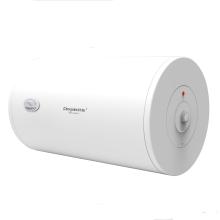Calefatores de água elétricos horizontais com termômetro, ânodo de alumínio