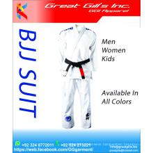 Wholesale Jiu Jitsu Gi / Bjj jiu jitsu suits with custom embroidery logos at cheap costs