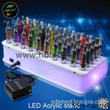 Unique Design LED Acrylic Display Stand for E Cigarette