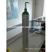 Me-Size (4.6L, OD=111mm) Aluminum Oxygen Cylinder