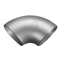 Codo de soldadura a tope de 90 grados SR de acero inoxidable