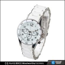 Reloj de los hombres del OEM con el reloj del wristband del movimiento de Japón