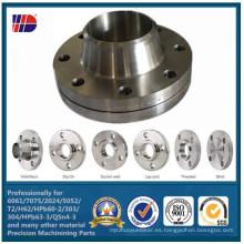 La calidad superior de AISI304 (L) asegura la reborde del tubo de cobre del acero inoxidable