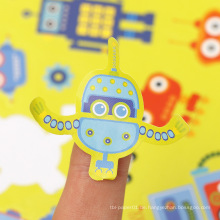 Vinyl dekorativer Aufkleber Farbe erhältlich Roboter benutzerdefinierte Kuss geschnitten Aufkleberblatt