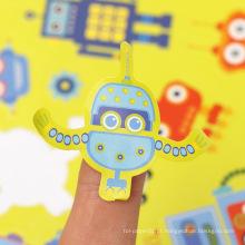 Vinil adesivo decorativo cor disponível robô personalizado beijo corte folha de adesivo
