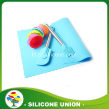 Silicone kitchen baking sheet spatula tikar sikat set