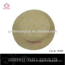 fashion handmade lady hats paper straw bucket hats floppy hats