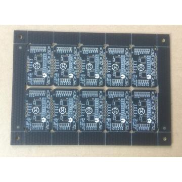 Placas de circuitos impresos de doble cara negro mate 1,2 mm 1OZ