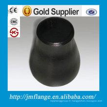 Réducteur concentrique en acier au carbone soudé forgé ASTM Q235 A105