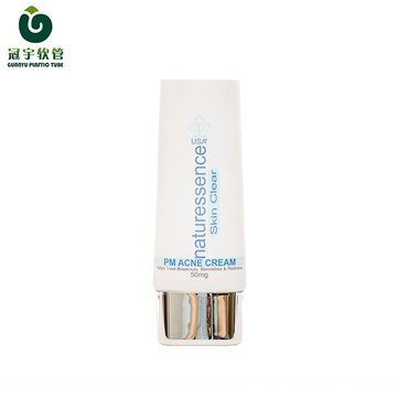 50g cosmetic plastic tube for sunscreen packaging