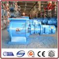Válvula de descarga rotatoria inferior de material a granel