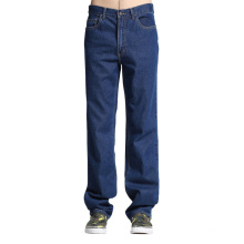 Wholesale Basic Mens Loose Jogger Jeans Big Size Jean