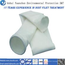 Saco de filtro não tecido do coletor de poeira da fibra de vidro para o central eléctrica hidroelétrico