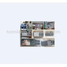 Venta directa de la fábrica alumbrado público moderno de las linternas del poste de la lámpara de calle de la fábrica