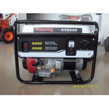 Generador de gasolina / generador de gasolina / grupo electrógeno de gasolina / grupo electrógeno de gasolina / generador de gasolina / serie generadora de gasolina (1kVA-10kVA) (KS5500)