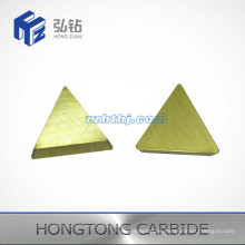 Yellow Coated Tungsten Carbide CNC Inserts