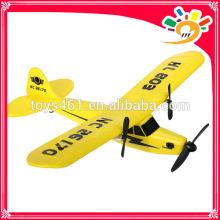 HuaLe HL803 2.4G Mise à niveau PIPER J3 CUB NC26170 RC Avion modèle avion