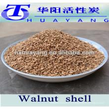 24 # grain de coquille de noix pour l'absorption d'huile de filtration de l'eau